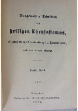 Husgewahste gchristen des heiligen chrhsostomus, 1874r.