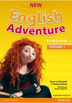 English Adventure New 1 SB +DVD PEARSON wieloletni