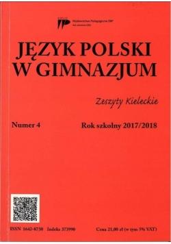 Język Polski w Gimnazjum nr.4 2017/2018