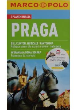 Praga z planem miasta