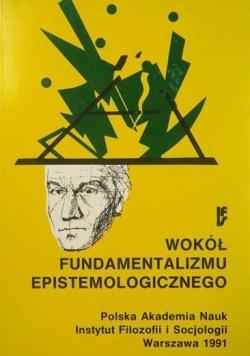 Wokół fundamentalizmu epistemologicznego