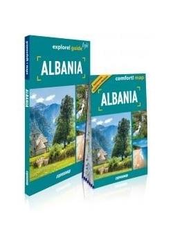 Explore! guide light Albania (Przewodnik + mapa)