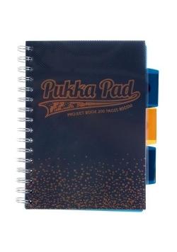 Project Book Blush Navy A4 kratka (3szt) PUKKA