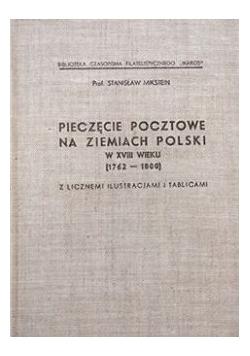 Pieczęcie pocztowe na ziemiach Polski w XVIII wieku, 1936 r.