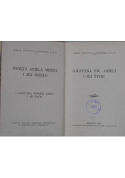 Ojczyzna św. Anieli i jej życie, 1935 r.