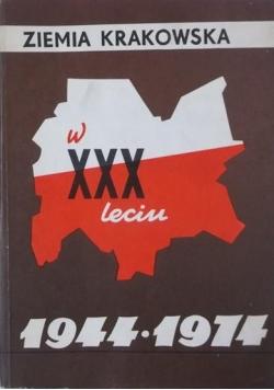 Ziemia krakowska w XXX - leciu 1944 - 1974