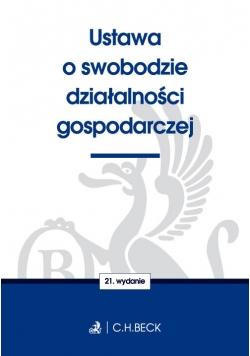 Ustawa o swobodzie działalności gospodarczej