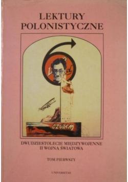 Lektury polonistyczne, Tom I