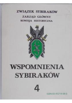 Wspomnienia Sybiraków, tom 4