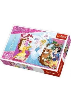 Puzzle 60 Księżniczki Zaproszenie na bal TREFL