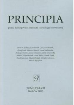 Principia tom LVII-LVIII