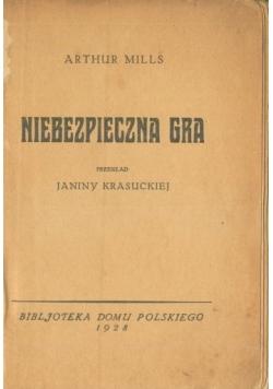 Niebezpieczna gra 1928r