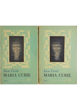 Maria Curie Tom I -II