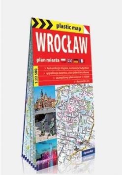 Plastic map Wrocław 1:22 500 plan miasta