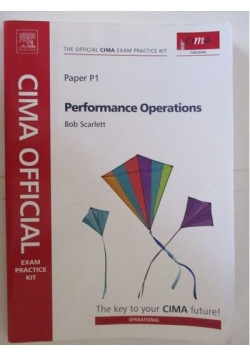 CIMA. Performance Operations. Paper P1
