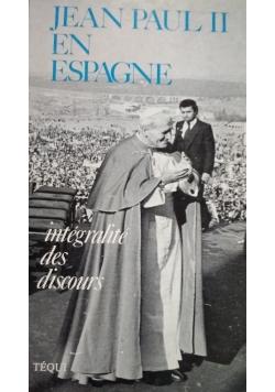 Jean Paul II en espagne