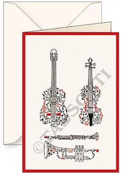 Karnet B6 + koperta Strumenti