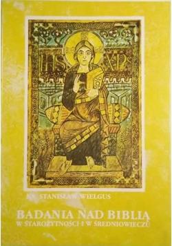 Badania nad Biblią w starożytności i średniowieczu