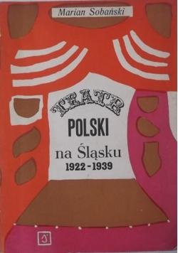 Teatr polski na Śląsku 1922-1939