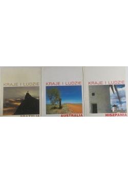 Kraje i ludzie, zestaw 3 książek