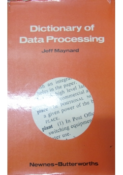 Dictionary of Data Processing