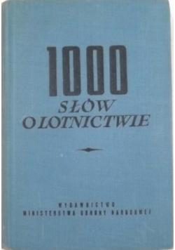 1000 słów o lotnictwie