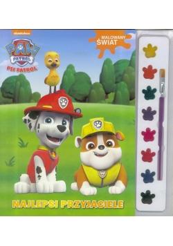 Psi Patrol. Malowany świat. Najlepsi przyjaciele