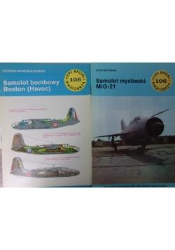 Samolot myśliwski MiG-21/Samolot bombowy Boston