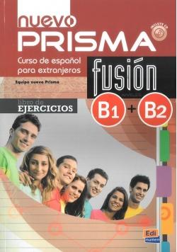 Nuevo Prisma fusion B1+B2 ćwiczenia + CD