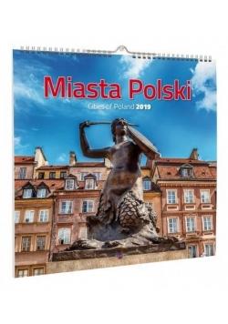 Kalendarz 2019 KD-16 Miasta Polski AVANTI