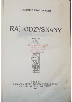 Raj odzyskany, 1917r