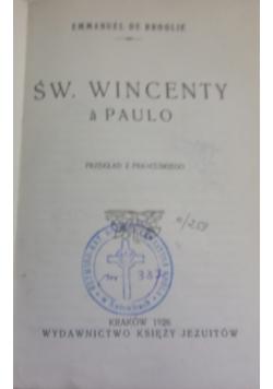 Św.Wincenty a Paulo,1926r