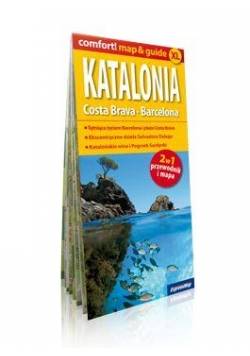 Comfort!map&guide XL Katalonia, Costa Brava 2w1