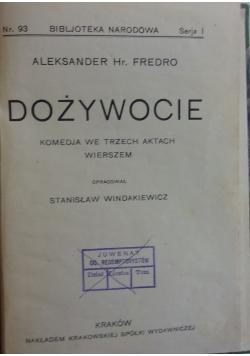 Dożywocie, 1927r