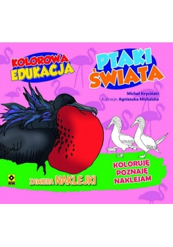 Kolorowa edukacja Ptaki świata.