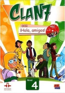Clan 7 con Hola amigos 4 podręcznik + CD