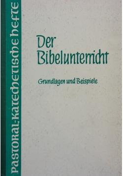 Der Bibelunterrucht Grundlagen und Beispiele