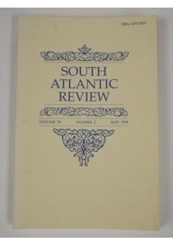 South Atlantic Review. Vol. 59. No. 2 1994