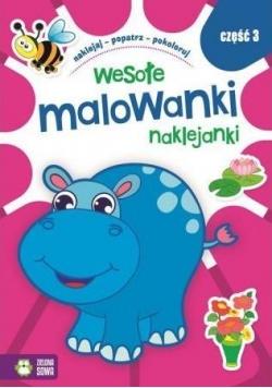 Wesołe Malowanki Naklejanki cz.3