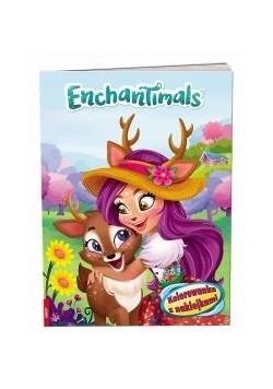 Enchantimals. Kolorowanka z naklejkami