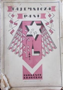 Tajemnicza pani, 1929 r.