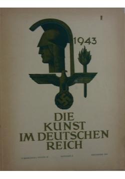 Die Kunst im Deutschen Reich,1943r.