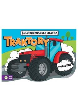 Kolorowanki dla chłopców. Traktory