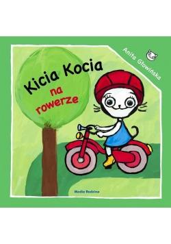 Kicia Kocia na rowerze
