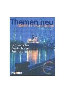 Themen neu. Zertifikatsband Kursbuch