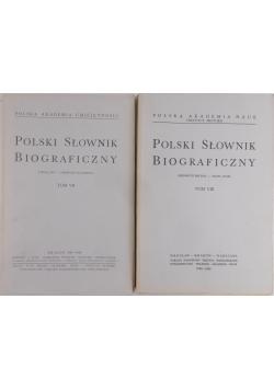 Polski Słownik Biograficzny,Tom VII-VIII