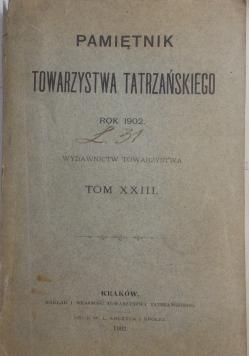 Pamiętnik towarzystwa tatrzańskiego, 1894 r.