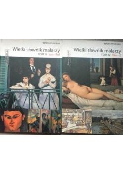 Wielki słownik malarzy, Tom 3 i 4