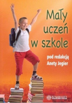 Mały uczeń w szkole