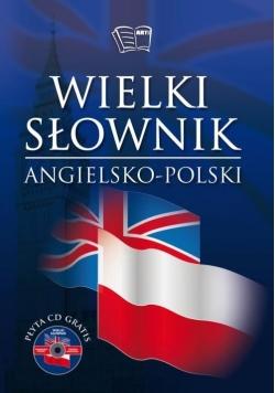 Wielki słownik polsko-angielski T.1 i T.2 +CD
